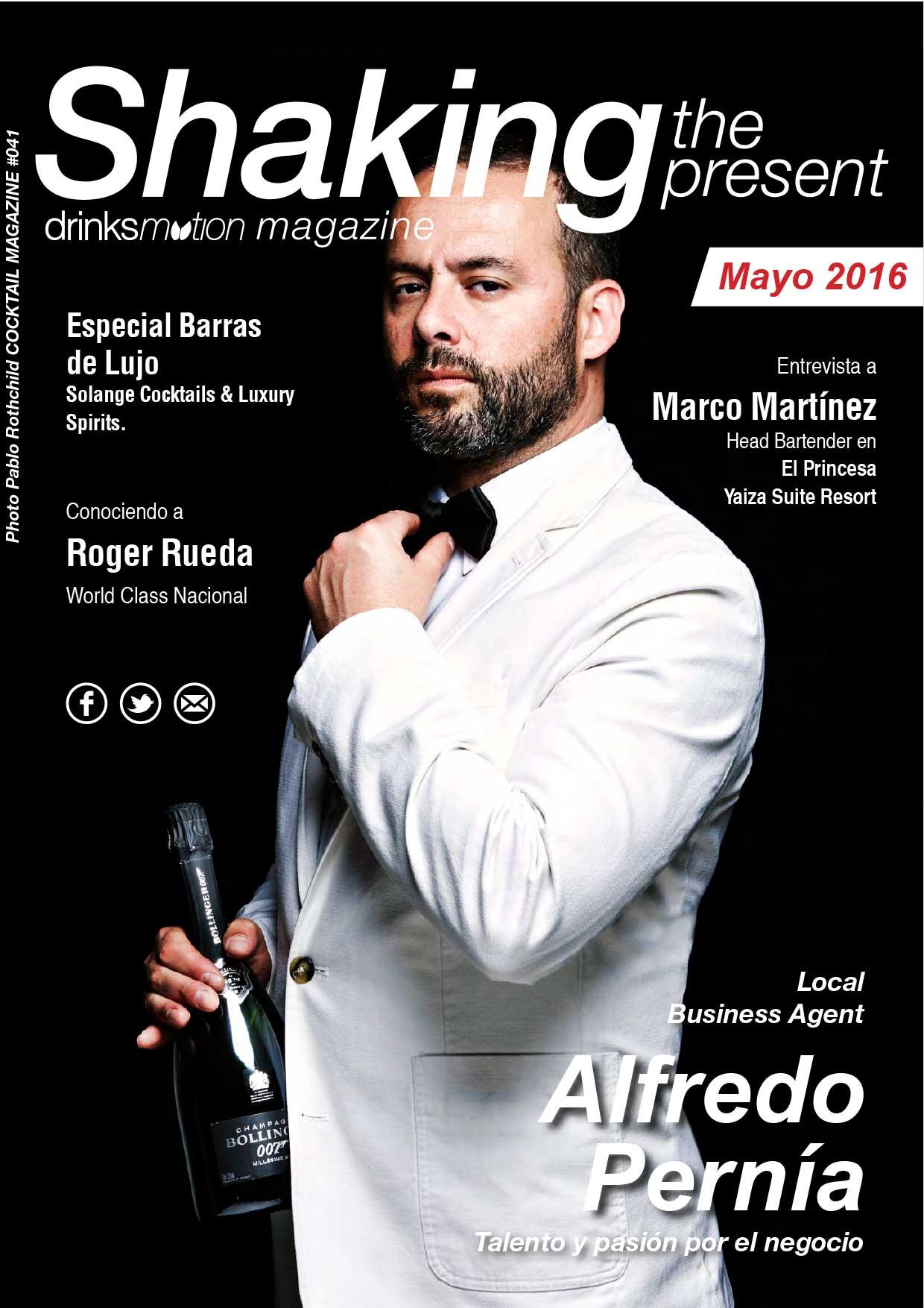 Magazine #30 Mayo 2016 – Alfredo Pernía