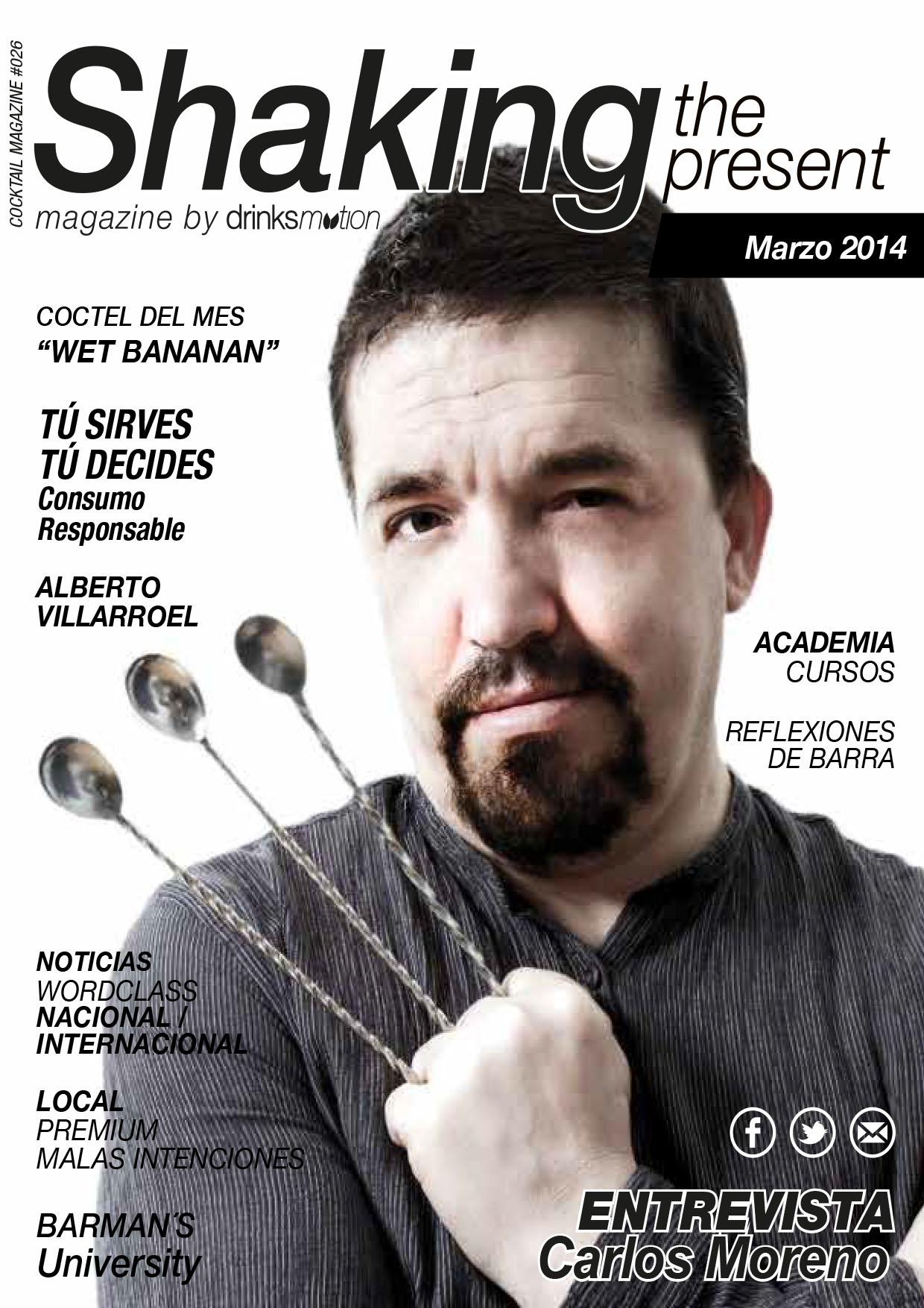 Magazine #15 Marzo 2014 – Carlos Moreno