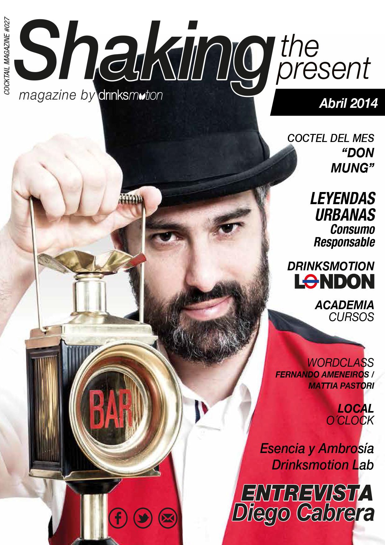 Magazine #16 Abril 2014 – Diego Cabrera