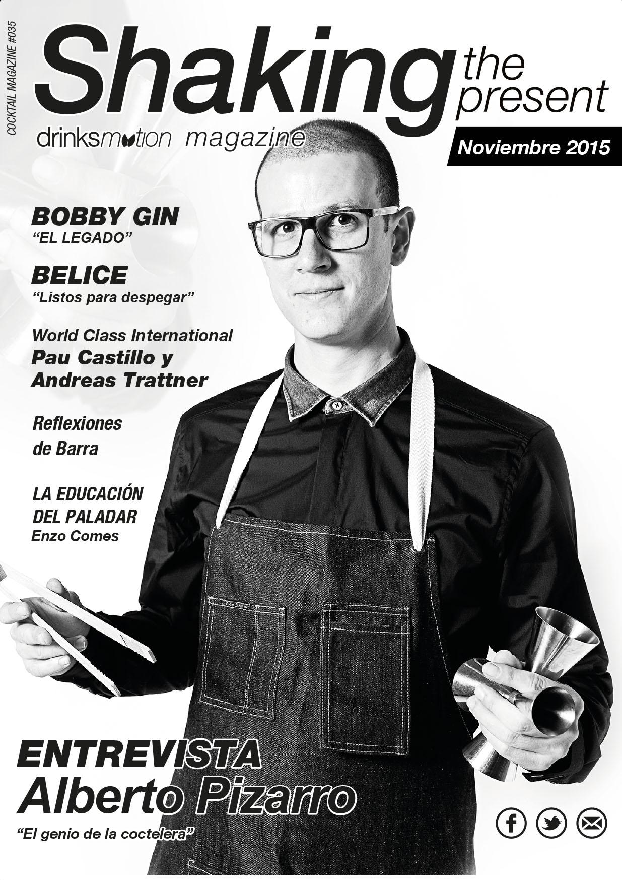 Magazine #24 Noviembre 2015 – Alberto Pizarro