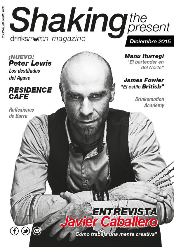 Magazine #25 Diciembre 2015 – Javier Caballero