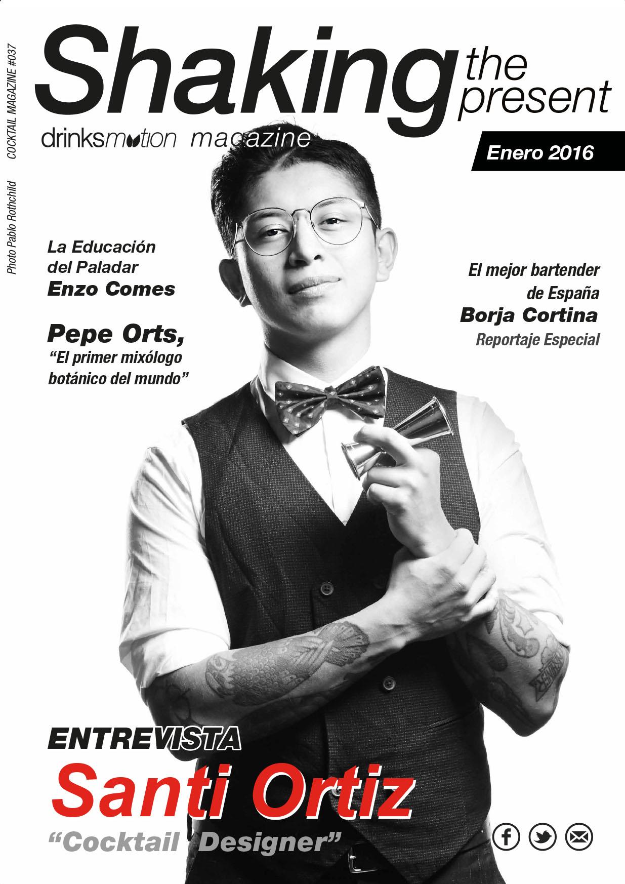 Magazine #26 Enero 2016 – Santi Ortíz