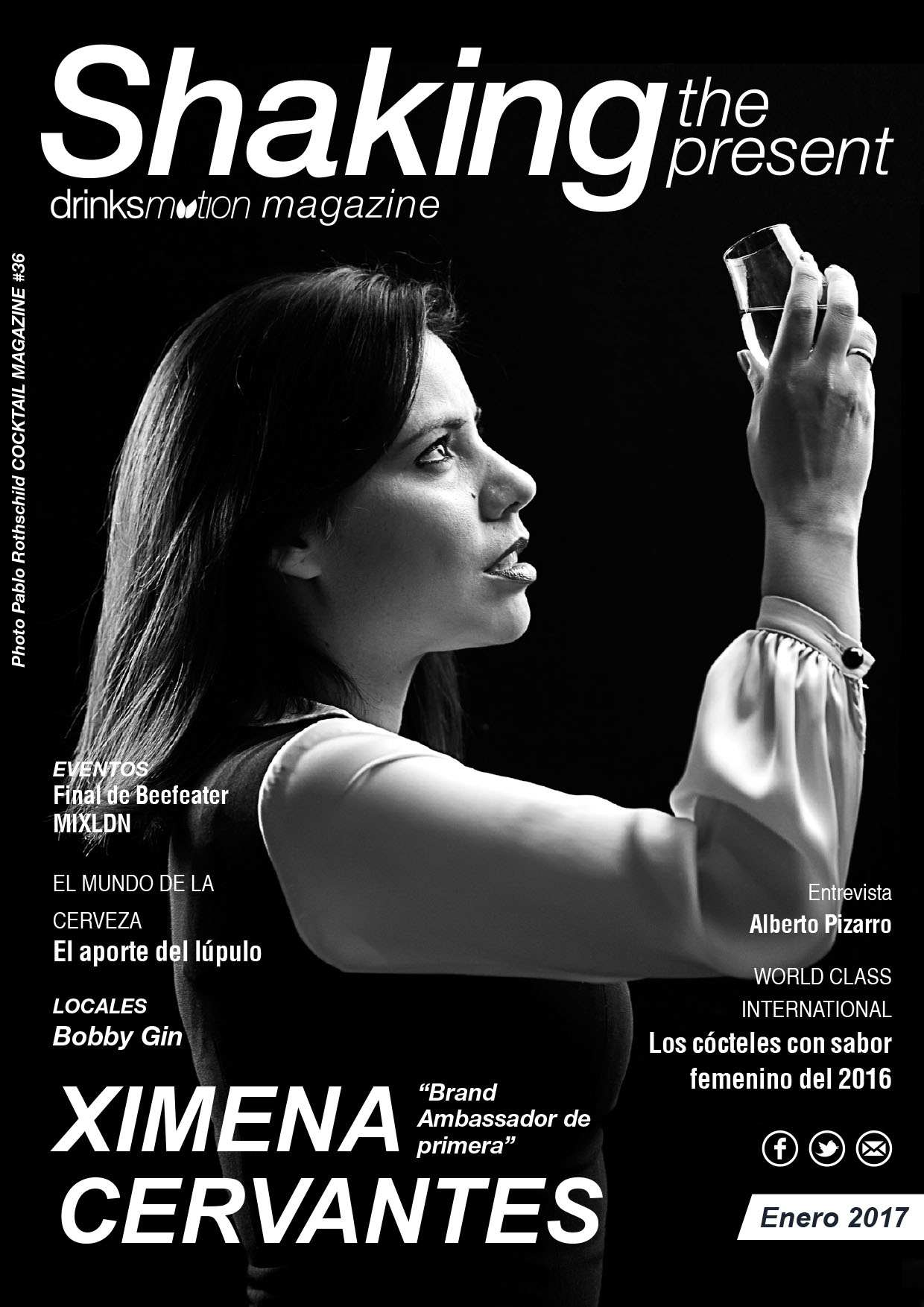 Magazine #36 Enero 2017 – Ximena Cervantes