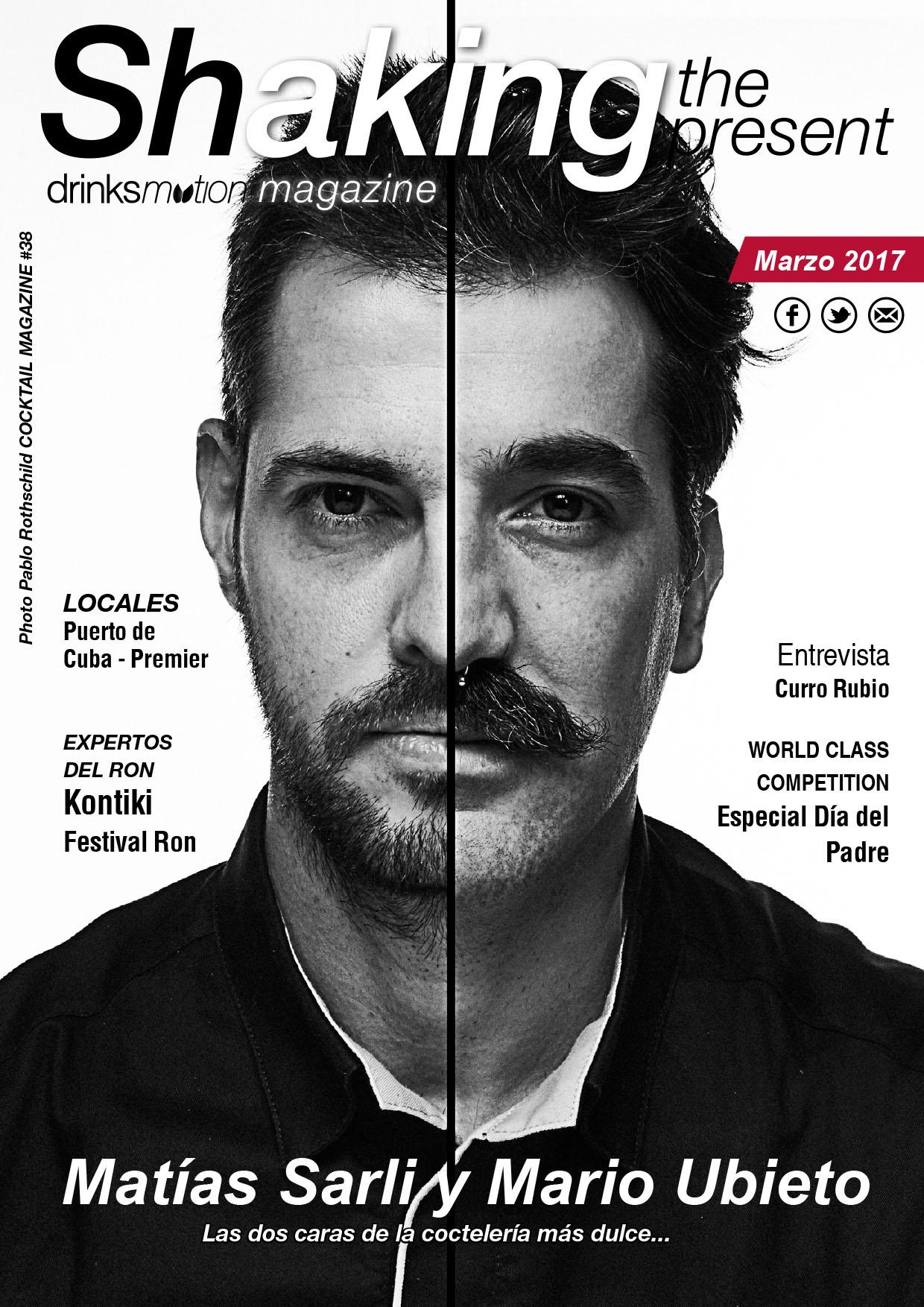Magazine #38 Marzo 2017 – Matías Sarli y Mario Ubieto
