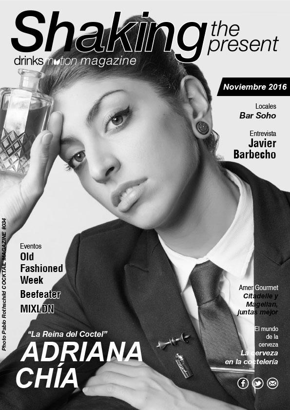 Magazine #34 Noviembre 2016 – Adriana Chía