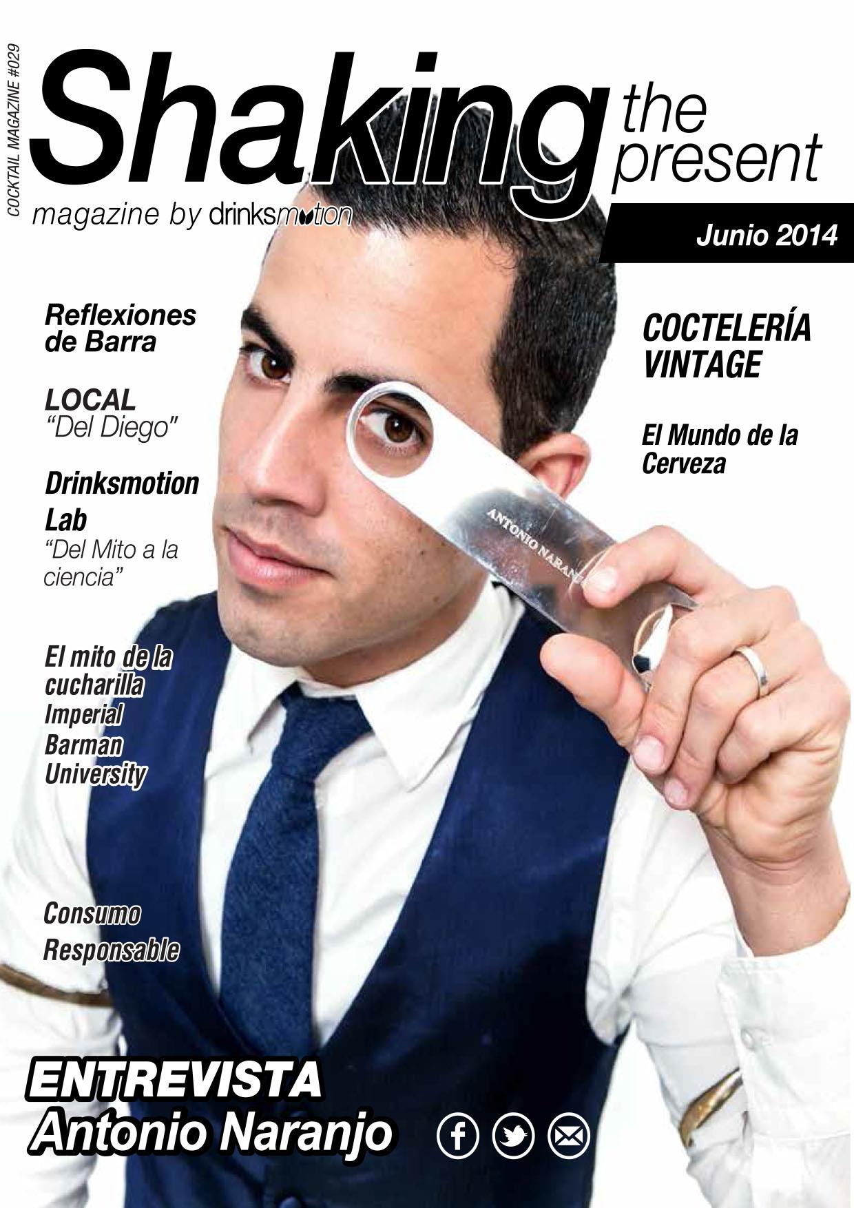Magazine #18 Junio 2014 – Antonio Naranjo