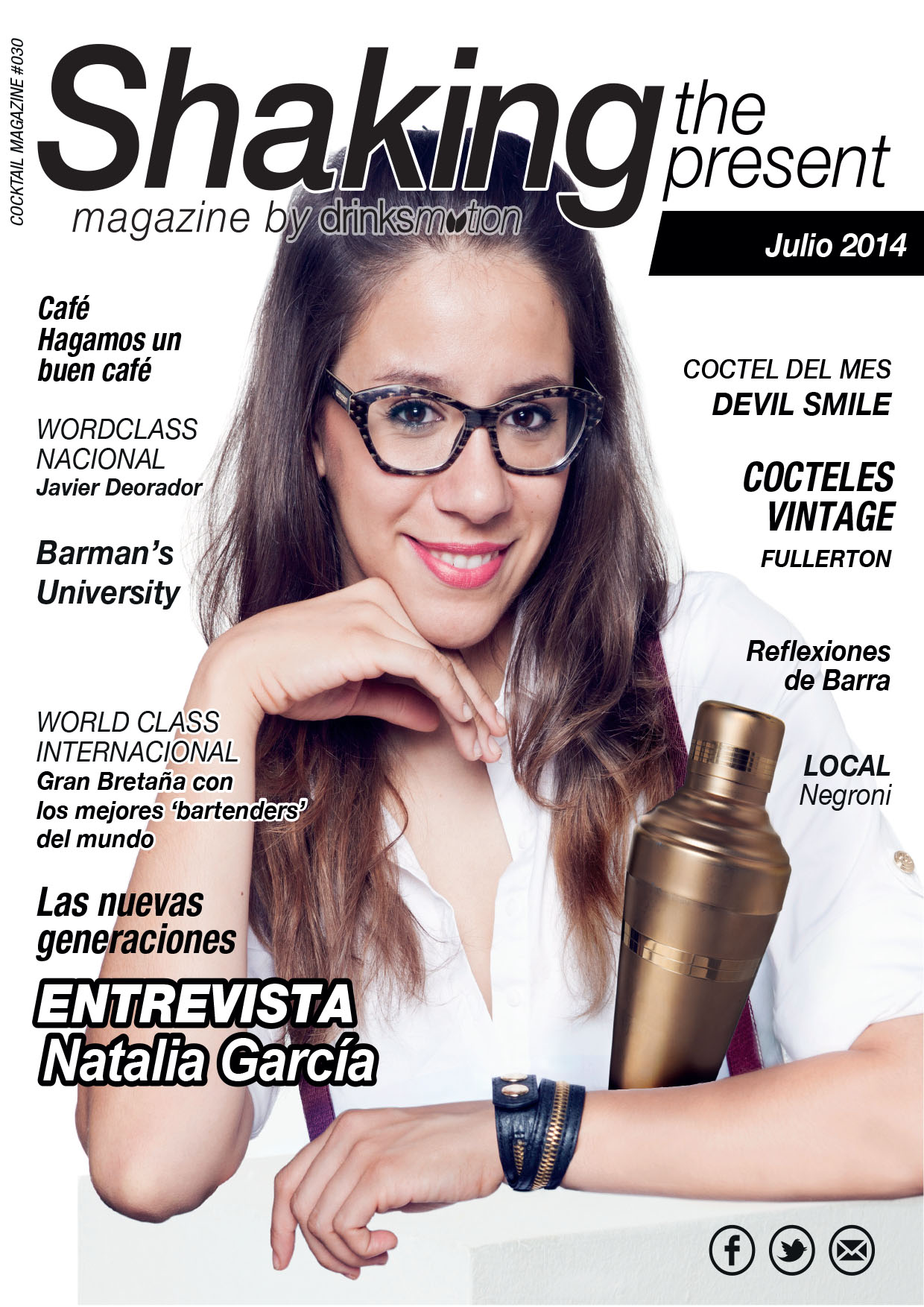 Magazine #19 Julio 2014 – Natalia García