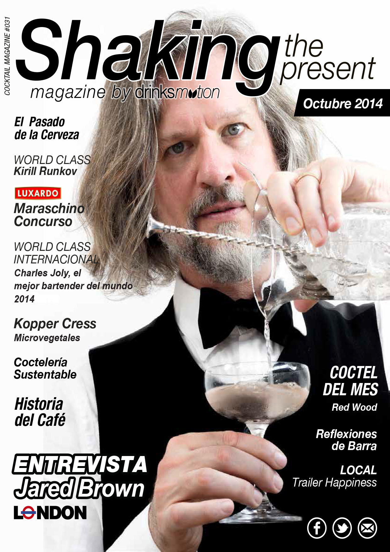 Magazine #20 Octubre 2014 – Jared Brown
