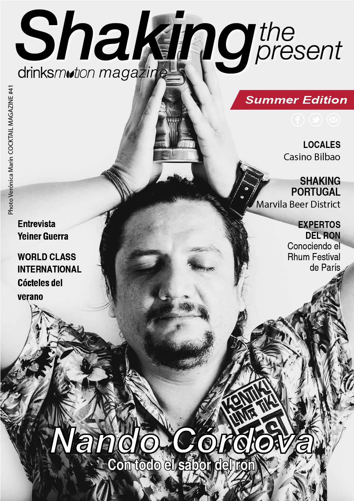 Magazine #41 Summer Edition 2017 – Nando Córdova