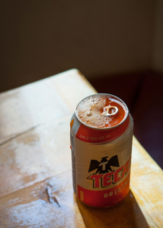 cerveza en lata