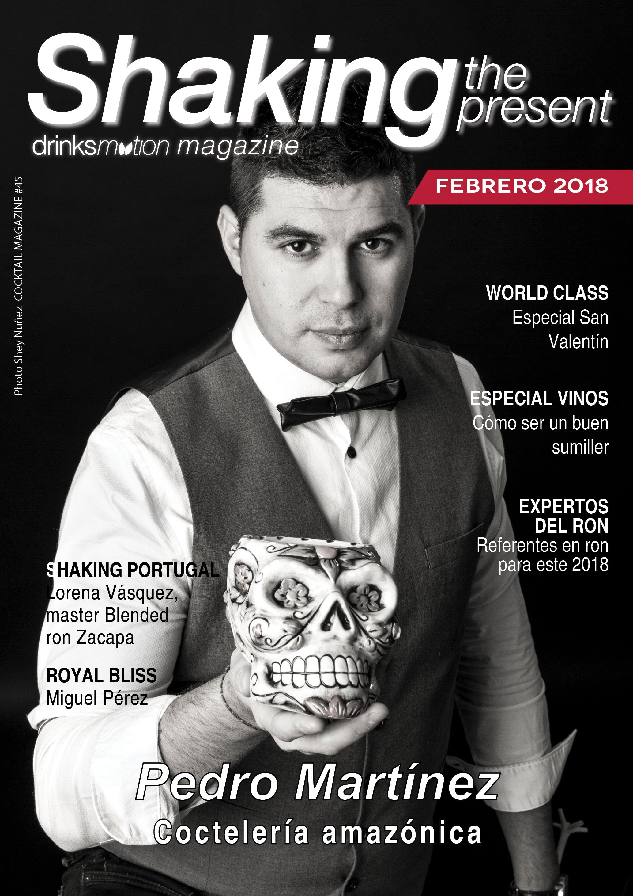 Magazine #45 febrero – Pedro Martínez Morillas